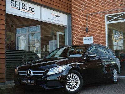 brugt Mercedes C220 2,1 BlueTEC Business stc. 170HK st.car aut