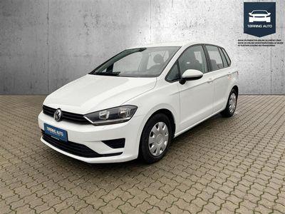brugt VW Golf Sportsvan 1,6 TDI BMT Trendline 110HK - Personbil - Hvid