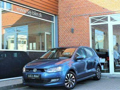 brugt VW Polo 1,0 Bluemotion BlueMotion DSG 95HK 5d 7g Aut. A+