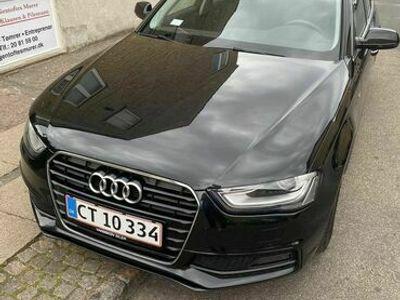 brugt Audi A4 2.0 TDI 136 HK 4-DØRSS-Line