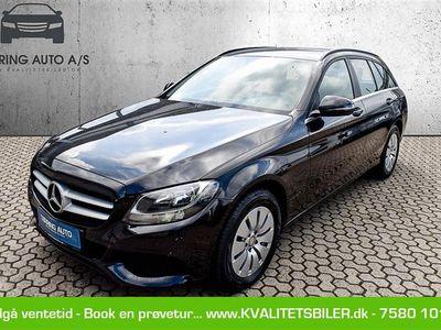 brugt Mercedes C200 d T 2,1 CDI 7G-Tronic Plus 136HK Stc 7g Aut. - Personbil - sortmetal