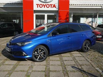 brugt Toyota Auris Touring Sports 1,8 B/EL Selected Bi-tone 136HK Stc