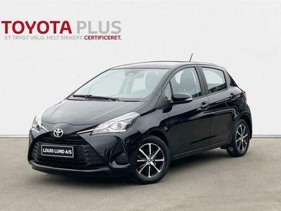 brugt Toyota Yaris 1,5 VVT-I T2 111HK 5d 6g A+