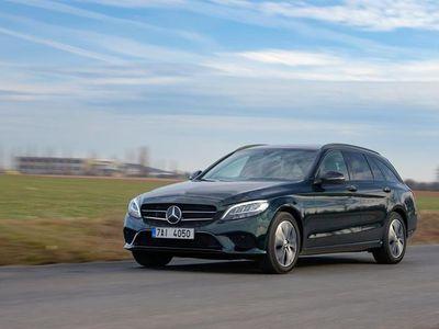brugt Mercedes C220 d T 2,1 Bluetec 9G-Tronic 170HK Stc 9g Aut. - Personbil - Sortmetal