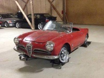 used Alfa Romeo Giulietta Spider type 750