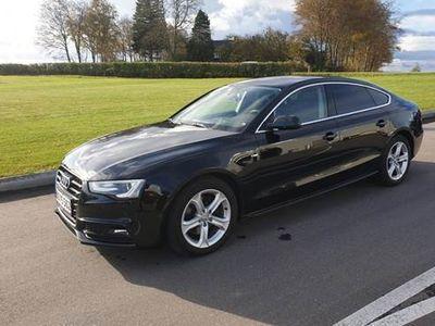 brugt Audi A5 Sportback S Line 1,8