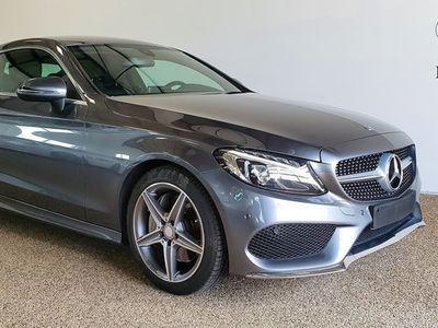 brugt Mercedes C200 Coupé AMG 184 hk 7G-TRONIC