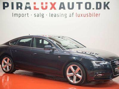 brugt Audi A5 Sportback 2,0 TDi 177 S-line Multitr.