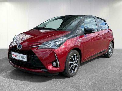 brugt Toyota Yaris 1,5 Hybrid H3 Premiumpakke E-CVT 100HK 5d Trinl. Gear
