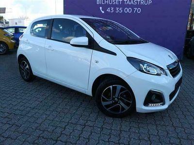 brugt Peugeot 108 1,0 e-Vti Infinity 72HK 5d