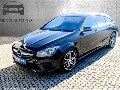 second-hand Mercedes CLA200 Shooting Brake 1,6 156HK Stc 6g - Personbil - sort