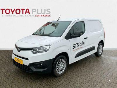 brugt Toyota Proace City Medium 1,5 D Comfort Bagklap 102HK Van