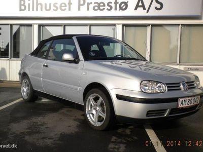 brugt VW Golf Cabriolet 2,0 Trendline 115HK