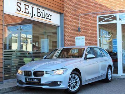 brugt BMW 320 d Touring 2,0 D Steptronic 184HK Stc 8g Aut. A
