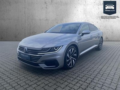 brugt VW Arteon 2,0 TSI R-Line DSG 190HK 5d 7g Aut. - Personbil - Sølvmetal