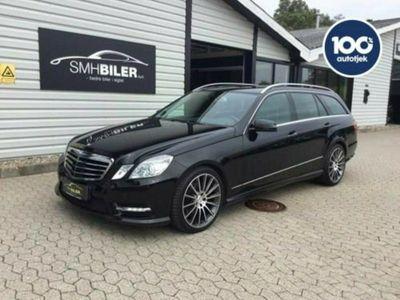 brugt Mercedes E250 2 CDi stc. aut. 4-M BE Van