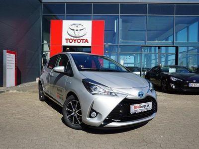 brugt Toyota Yaris Hybrid 1,5 B/EL Limited E-CVT 100HK 5d Trinl. Gear