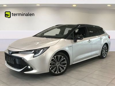 brugt Toyota Corolla 2,0 Hybrid H3 Premium TS MDS