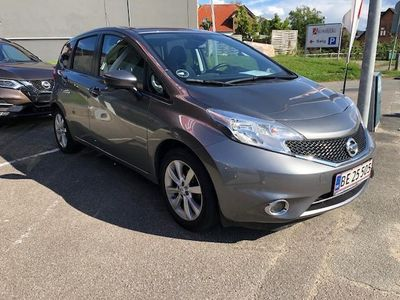 brugt Nissan Note 1,2 Acenta Plus Tech Pack CVT 98HK 5d Trinl. Gear