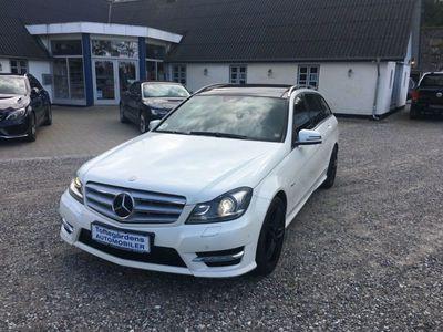 brugt Mercedes C250 2,2 CDi Avantgarde stc. aut. BE