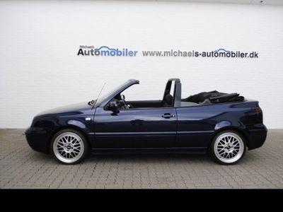 brugt VW Golf Cabriolet 1.6 Trendline 5g 2d