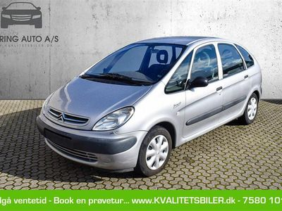 brugt Citroën Xsara Picasso 1,6 Family 95HK - Personbil - sølvmetal