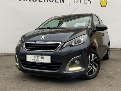 brugt Peugeot 108 1,0 e-Vti Intense 69HK 5d