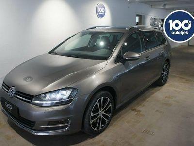 brugt VW Golf VII 2,0 TDi 150 Lounge Variant DSG BMT