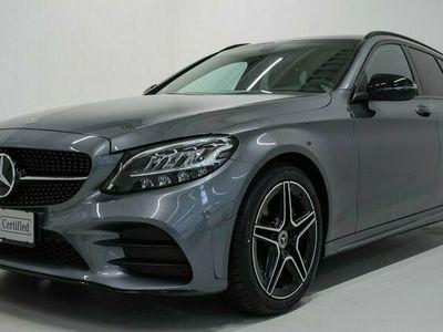 brugt Mercedes C220 d AMG Line stc. aut. 2020