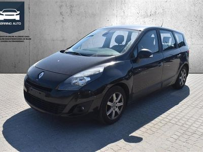 brugt Renault Grand Scénic 7 pers. 1,9 DCI FAP Expression 130HK 6g - Personbil - Sortmetal - 7 pers.