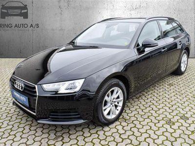 brugt Audi A4 Avant 2,0 TDI S Tronic 150HK Stc 7g Aut. - Personbil - sort