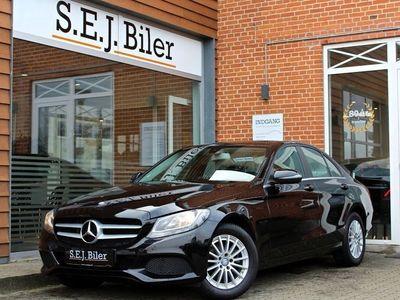 brugt Mercedes C200 d 1,6 136HK 4d
