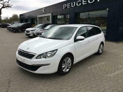 brugt Peugeot 308 SW 1,6 BlueHDi Collection 120HK Stc