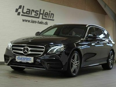 brugt Mercedes E220 AMG Line stc. aut. 4Matic