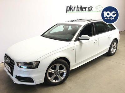 brugt Audi A4 1,8 T AVANT S-Line 170HK st.car