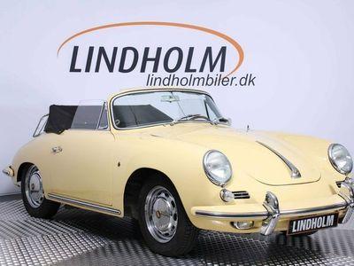 brugt Porsche 356 SC 1,6 Cabriolet