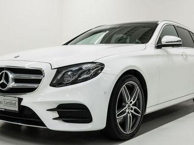 brugt Mercedes E220 AMG Line stc. aut. 2018