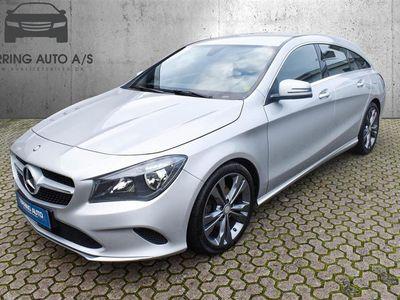 brugt Mercedes CLA200 Shooting Brake 2,1 CDI 136HK Stc 6g - Personbil - sølvmetal