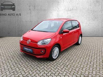 brugt VW up! 1,0 MPI BMT High 60HK 5d - Personbil - rød