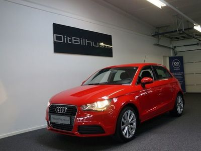 brugt Audi A1 Sportback 1,4 TFSi 122 Attraction S-tr.
