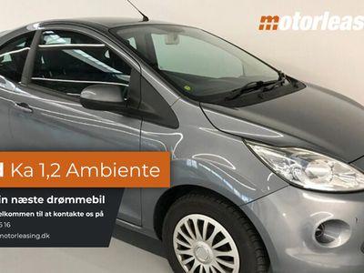 gebraucht Ford Ka 1,2 Ambiente SE 3d