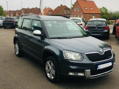 käytetty Skoda Yeti Outdoor 1,6 TDi 105 Ambition GreenLine
