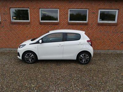 brugt Peugeot 108 1,0 e-Vti Allure 69HK 5d
