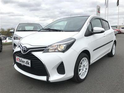 brugt Toyota Yaris 1,3 VVT-I T2 Komfort + Skyview 100HK 5d 6g