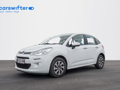 brugt Citroën C3 1,6 BlueHDi 100 Seduction Upgrade 5d
