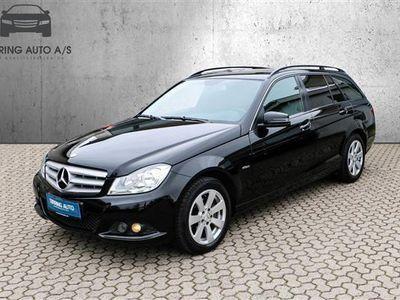 usata Mercedes C200 T 2,1 CDI BlueEfficiency 136HK Stc 6g - Personbil - sort