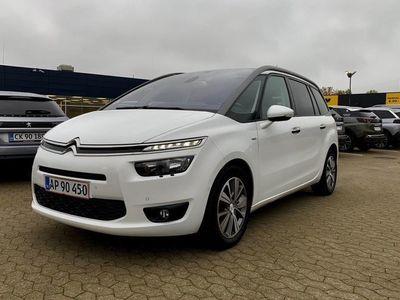 brugt Citroën Grand C4 Picasso 2,0 Blue HDi Exclusive EAT6 start/stop 150HK 6g Aut.