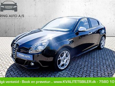 brugt Alfa Romeo Giulietta 1,4 Multiair Distinctive 170HK 5d 6g - Personbil - sort