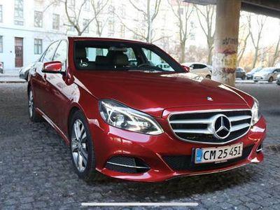 brugt Mercedes E220 1 E-edition med avantgarde pakken