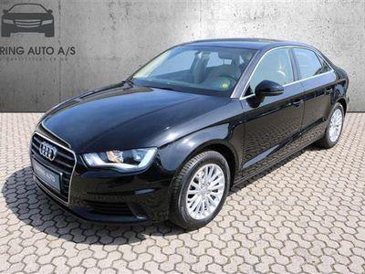 brugt Audi A3 1,4 TFSI Ambiente 125HK 6g - Personbil - sortmetal